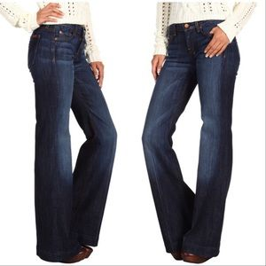 7 For All Mankind Dojo Flare Bling Jeans 27x32